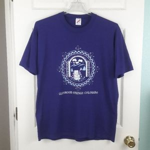 Vintage 80s Glenwood Springs Colorado T Shirt